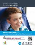 Flyer sur l'inscription aux transports scolaires 2021-2022 - Page 1