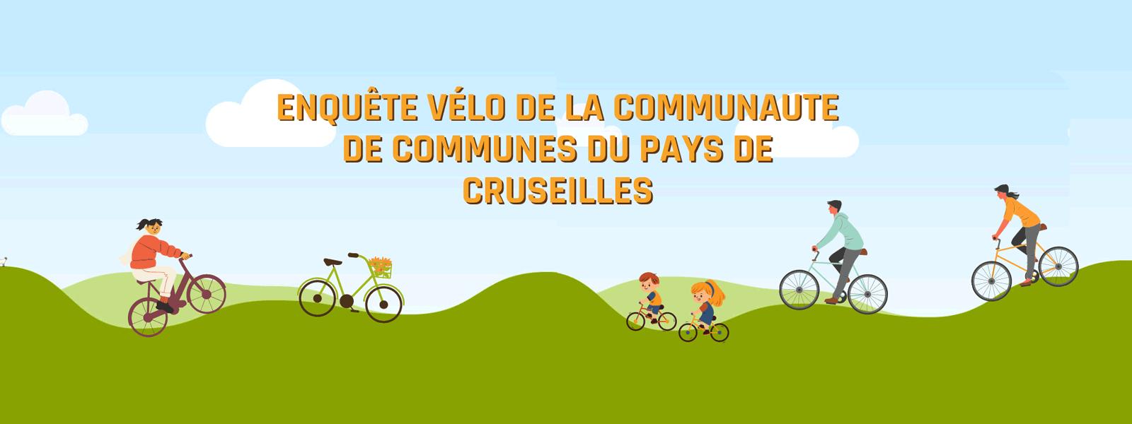 Enquête vélo sur le territoire de la communauté de communes du Pays de Cruseilles