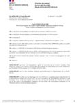 Arrêté préfectoral 2021-CAB-BSI-053 du 1er mai 2021 portant diverses mesures visant à freiner la propagation du Covid19 - Page 1