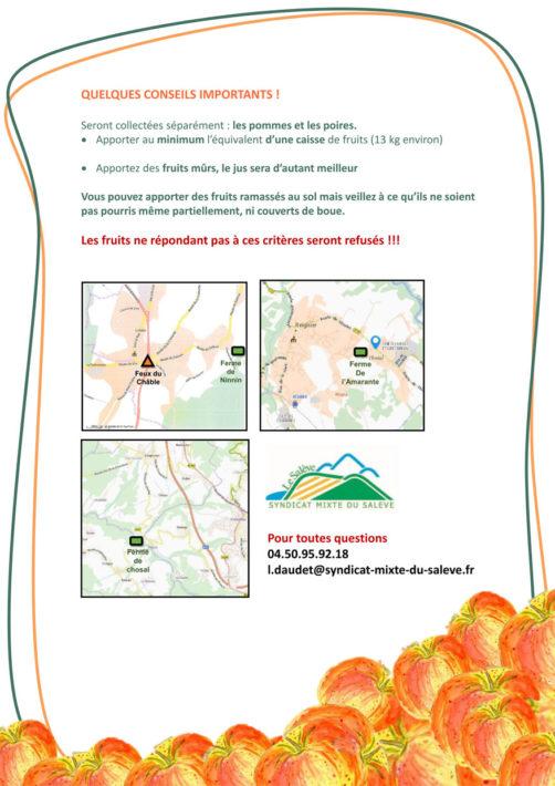 Collecte de vos pommes et poires pour les transformer en jus et cidre : mémento (format PDF, 977Ko)